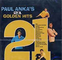 ANKA PAUL - 21 golden hits