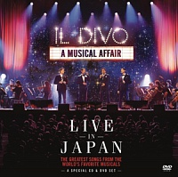 IL DIVO - A musical affair-live in japan-cd+dvd:deluxe edition